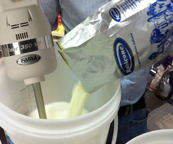 Dạy làm kem tươi tại Vua Kem